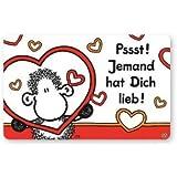 Sheepworld - 57218 - Pocketcard Nr. 35, Pssst! Jemand hat Dich lieb!