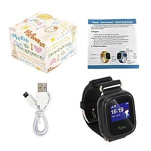 Q60 Kind Smartwatch Safe-Keeper SOS-Anruf Anti-Lost-Monitor Echtzeit-Tracker für Kinder Basisstation Standort