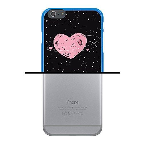 iPhone 6 Plus | 6S Plus Hülle, WoowCase Handyhülle Silikon für [ iPhone 6 Plus | 6S Plus ] Lippen Gay Flagge Handytasche Handy Cover Case Schutzhülle Flexible TPU - Transparent Housse Gel iPhone 6 Plus | 6S Plus Blau D0265