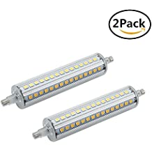 w led lm k luz de resplandor blanco clido bombillas de ahorro de energa reemplazo de halgeno de rs para w lmparas halgenas dobles