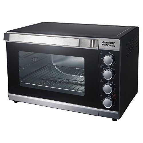 American Micronic AMI-OTG-46LDx 46-Litre Imported Oven Toaster Griller with Rotisserie and Convection (Silver)