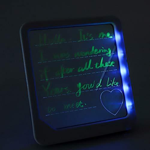 LED fluoreszierende Schreibplatte/LED Menüleiste/fluoreszierende Neonschrift/Geeignet für Teegeschäft/Restaurant/Kindergarten