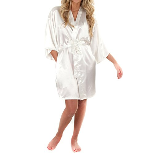 White Dressing Gown: Amazon.co.uk
