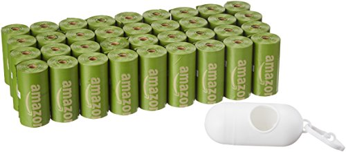 AmazonBasics - Bolsa mejorada heces perro aditivos