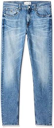 Calvin Klein Jeans Men's 058 Slim Taper Denim Pant, Blue, 33W/32L,