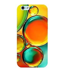 Colourful Bubbles 3D Hard Polycarbonate Designer Back Case Cover for Apple iPhone 6s Plus :: Apple iPhone 6s+