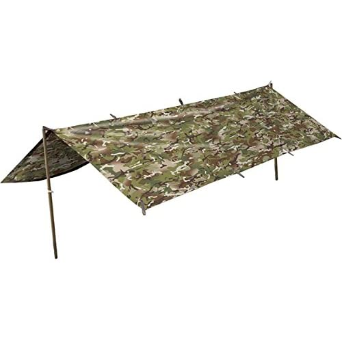 418N2G5UQkL. SS500  - Army Waterproof Military Combat Basha Shelter Poncho Camo US & British Army Tent