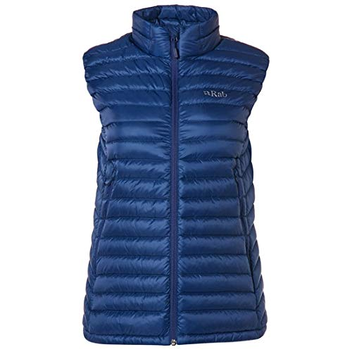 418N2QI57EL. SS500  - Rab Microlight Vest Women black-seaglass 2019 outdoor vest