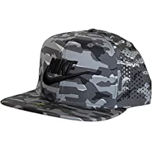Nike - Gorra de béisbol - para Hombre Gris y Negro Talla única a0e66b19830