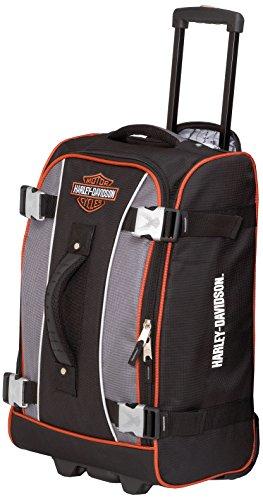 Harley Davidson 63,5cm Hybrid Gepäck Spinner-Räder, Gray/Black (mehrfarbig) - 99625 (Gepäck-spinner-räder)