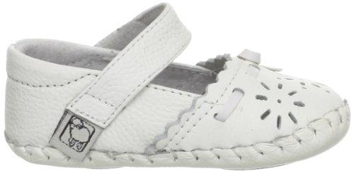 Chaussures bébé cuir souple - Fille - Blanc - Taille 18-24 mois Blanc