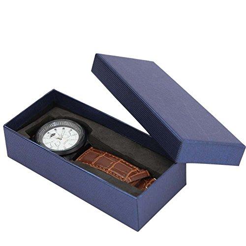 Homesave Schmuck Geschenk Uhr Geschenk Box Für Armband Halskette Ring Armreif Kette Armband Uhr Anhänger Speicher Display Box Fall (Armband Lang)