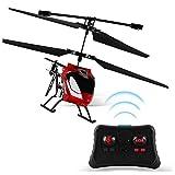 Hélicoptère RC Télécommande Hélicoptère avec Gyro Indoor Crash Resistance Mini...