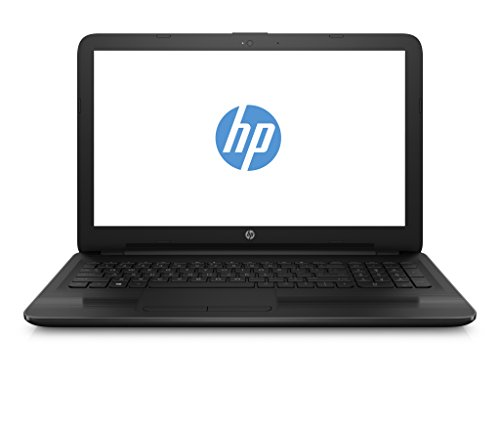 HP 14-am018ng (1HF04EA) 35,6 cm (14 Zoll) HD SVA Notebook (Intel Celeron N3060, 4 GB RAM, 500 GB HDD, Intel HD-Grafikkarte 400, FreeDOS 2.0) schwarz