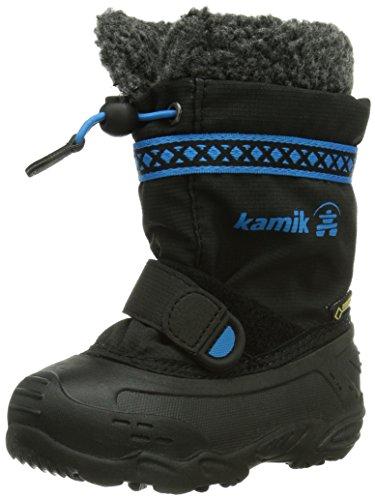 Kamik Hatrickg, Boots mixte enfant Noir (Bk2)