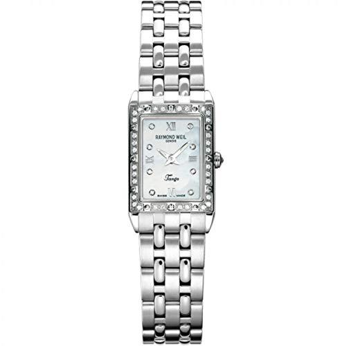 Raymond Weil Tango Femme Diamant Saphire Quartz Montre 5971-STS00995