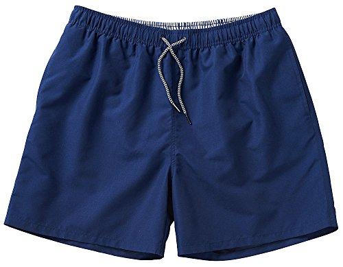 NCXtreme Herren Badeshort/Badehose, Männer Schwimmhose mit vielen Taschen, schnelltrocknend und Ultraleicht (Größen: M - 4XL, Farbe: Blau)