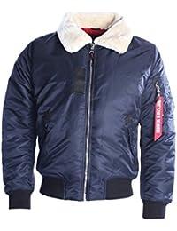 Bomber Homme Gov Denim bleu 5888_BL-W