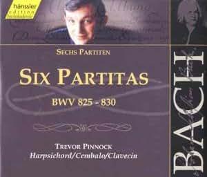 Bach: Six Partitas, BWV 825-830 (Edition Bachakademie Vol 115) /Pinnock (harpsichord)