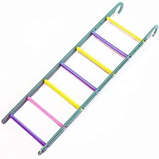 Happypet® 7 Rung Colourful Small Caged Bird Ladder Budgie Cockatiels Love Birds Finches 13