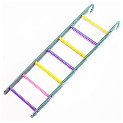 Happypet® 7 Rung Colourful Small Caged Bird Ladder Budgie Cockatiels Love Birds Finches 1