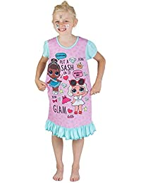 L.O.L Surprise Nightie Or Shortie Dolls Confetti Pop Nightie Dresses for Girls Lil Outrageous Littles Pyjama