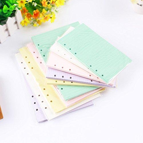 40 hojas A5/A6 cuaderno de papel de relleno