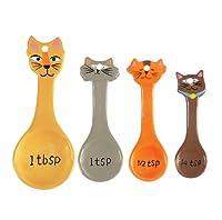 Boston Warehouse Frisky Business Measuring Spoon, Set of 4