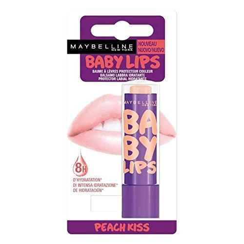 Lèvres Gemey maybelline Rouge a levres baume baby lips peach kiss BLISTER/NU Prix Unitaire - Envoi Rapide Et Soignée