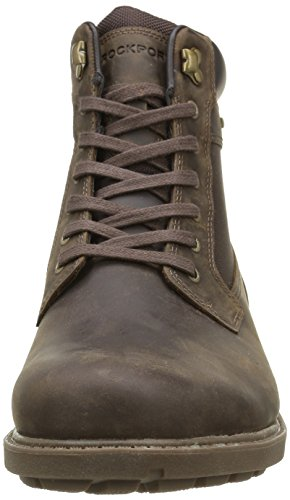Rockport Rugged Bucks Waterproof High Boot, Stivaletti Uomo Marrone (Braun (DK BROWN))
