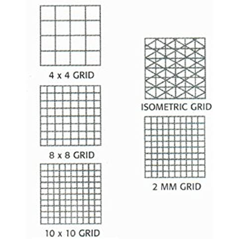 CLEARPRINT Fade-Out Design & Sketch Vellum, Grid