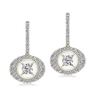 Senco Gold 18KT Yellow Gold and Diamond Stud Earrings for Women