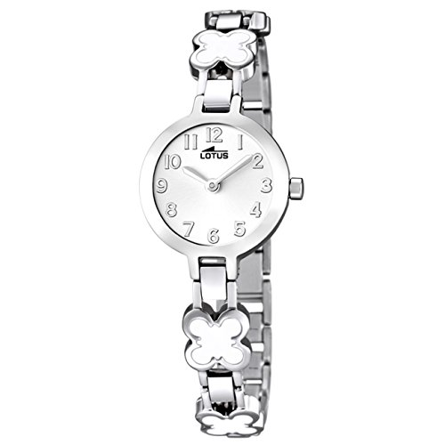Lotus Reloj Analógico para Niñas de Cuarzo con Correa en Acero Inoxidable 15828/1