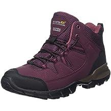 Regatta 8 UK, Purple (Fig/RoseBlus) Lady Holcombe Mid, Women's High Rise Hiking Boots