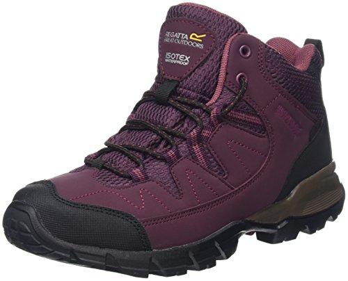 Regatta-Womens-Lady-Holcombe-Mid-High-Rise-Hiking-Boots-Purple-FigRoseblus-5-UK-38-EU