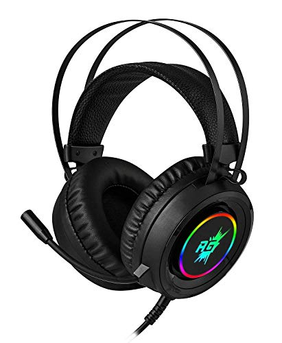 1. Redgear Cloak RGB Gaming Headphones with Microphone for PC