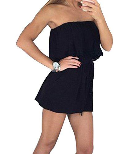 minetom-donna-estate-elegante-tuta-senza-spalline-corta-pagliaccetto-pantaloncini-jumpsuit-senza-man