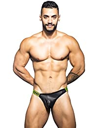 Andrew Christian FUKR Collection BLack Color Surge Thong Underwear For Men