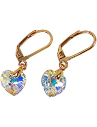 Till Berg Pendientes de Swarovski Piedra Colgante Pendientes Set de Oro Azul Diamante Trendit–haenge Juego de pendientes Swarovski de diamantes Star Gold Diamond 4950