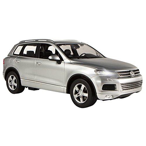 RC Auto kaufen Spielzeug Bild 3: Rastar Volkswagen Touareg, RC Auto, Maßstab 1: 14 grau*