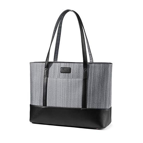 Laptoptasche 15,6 Zoll Handtasche Damen Shopper Damen GroßAktentasche Damen Businesstasche Damen Tragbar Schultertasche Tote Bag für Business/Schule/Reise-MEHRWEG - Damen-aktentaschen