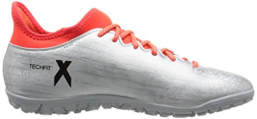 adidas X 16.3 TF, Chaussures de Foot Homme Plata (Plamet / Negbas / Rojsol)