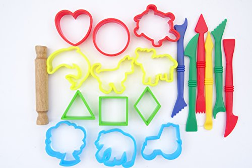 set-of-19-modelling-dough-craft-tools