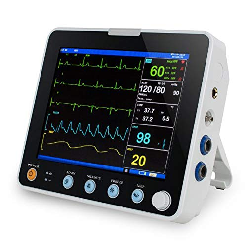 Multi-Parameter Patient Monitor, 8 Inch with LCD Screen -