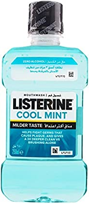 Listerine Zero Mouthwash, 250 ml