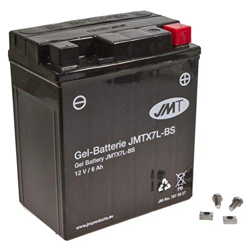 JMT YTX7L-BS Gel Batterie CA 125 Rebel 1995-2000