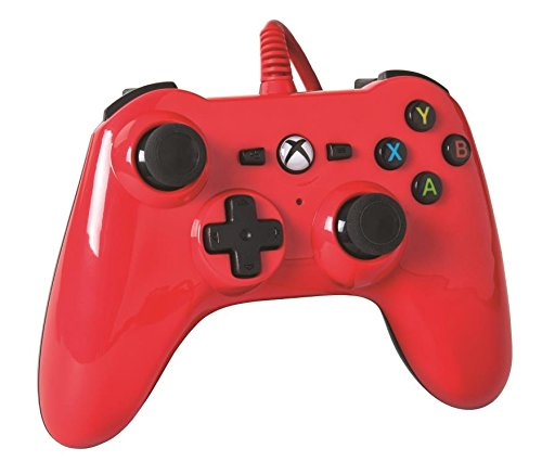 Xbox One Mini Series Wired Controller (Xbox One), Red 418NKgM5vkL