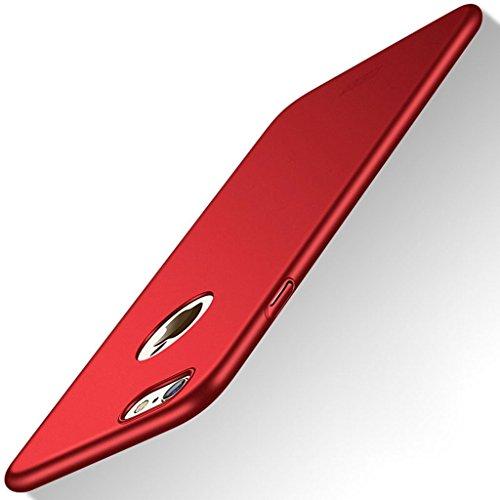 Meimeiwu Alta Qualità Ultra Sottile Leggera [Morbido tocco] Antiscivolo Duro PC Shell Slim Custodia Per iPhone 7 - Oro Rosso