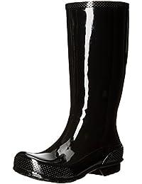 Crocs Womens Tall W Rain Boot Black/Black 37-38EU