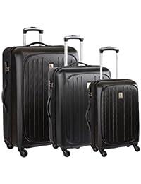 Delsey Set de 3 trolleys Rigides Hydre Noir